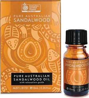 Mount Romance Organic Sandalwood Oil 10ml-Health Tree Australia
