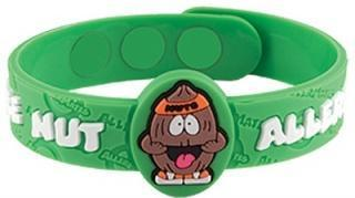 AllerMates ALERT Wristband Nut Allergy - Health Tree Australia