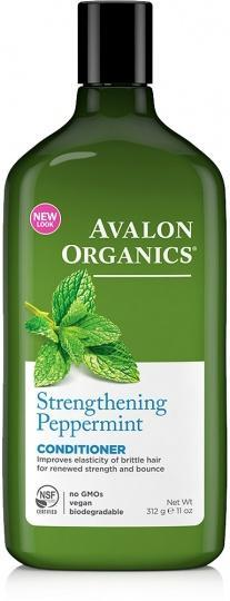 Avalon Organics Strengthening Peppermint Conditioner 325ml-Health Tree Australia