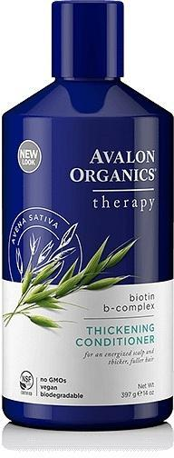 Avalon Organics Biotin B Complex Thickening Conditioner 400ml-Health Tree Australia