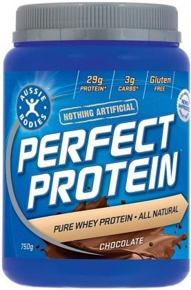 Aussie Bodies Perfect Protein Powder Chocolate 750g-Health Tree Australia
