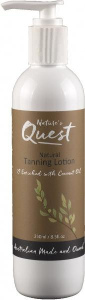 Nature's Quest Tanning Lotion 250ml