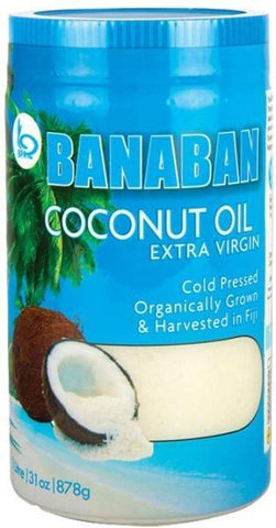 Banaban Extra Virgin Coconut Oil 1Ltr (Glass with Sleeve)