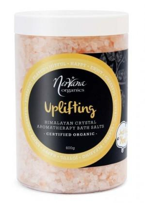 Nirvana Himalayan Crystal Salt Uplifting Scented Bath Salts 600gm