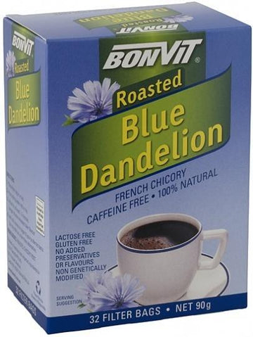 Bonvit Blue Dandelion French Chicory 32 Filter Bags