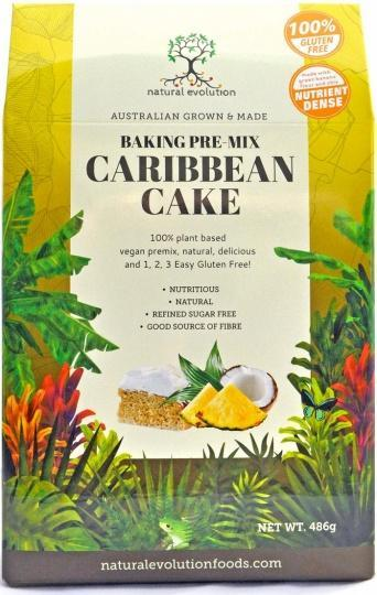 Natural Evolution Baking Pre-Mix Caribbean Cake 486g