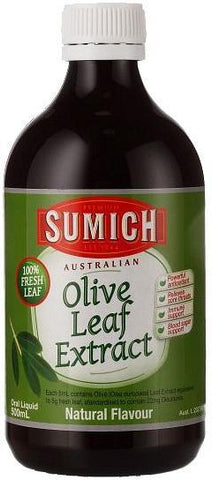 Sumich Australian Olive Leaf Extract Natural Flavour Oral Liquid 500ml
