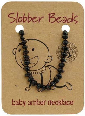 Slobber Beads Baby Cherry Round Necklace