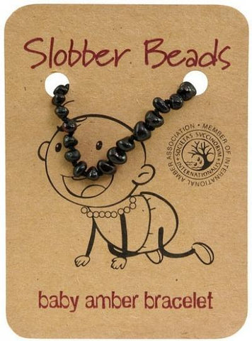 Slobber Beads Baby Cherry Oval Bracelet-Health Tree Australia
