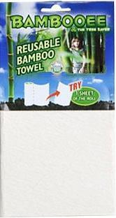 Bambooee Reusable Bamboo Towel Roll Single Sheet x 30 Pack-Health Tree Australia