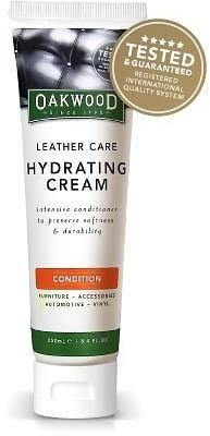 Oakwood Leather Care Hydrating Cream 250ml-Health Tree Australia