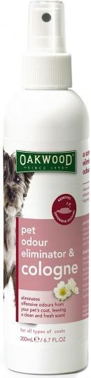 Oakwood Quick, Fix My Stink Pet Odour Eliminator Cologne 200ml