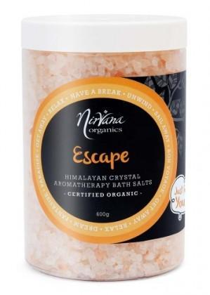 Nirvana Himalayan Crystal Salt Escape Scented Bath Salts 600gm