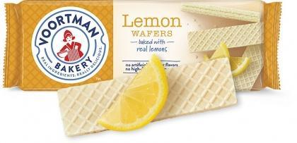 Voortman Sugar Free Lemon Wafers 255g New