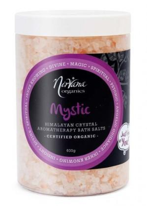 Nirvana Himalayan Crystal Salt Mystic Scented Bath Salts 600gm