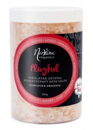 Nirvana Himalayan Crystal Salt Playful Scented Bath Salts 600gm