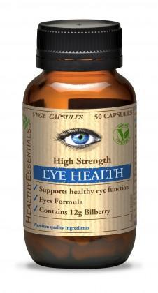 Healthy Essentials High Strength Eye Health G/F 50caps