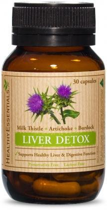 Healthy Essentials Liver Detox 30caps-Health Tree Australia