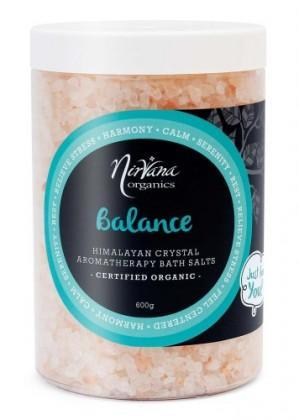 Nirvana Himalayan Crystal Salt Balance Scented Bath Salts 600gm