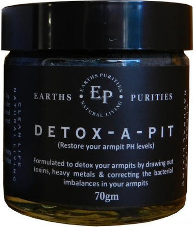 Earth Purities Detox-A-Pit G/F 70gm-Health Tree Australia