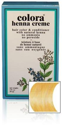 Colora Henna Creme 59ml - Gold Blonde-Health Tree Australia
