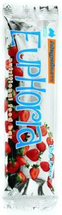 Megaburn Euphoria Strawberry Box 10 Bars x 60gm-Health Tree Australia