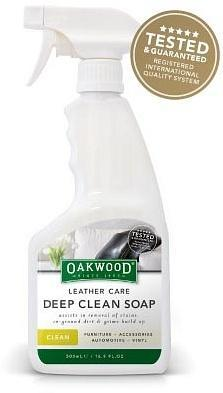 Oakwood Leather Care Deep Clean Soap 500ml