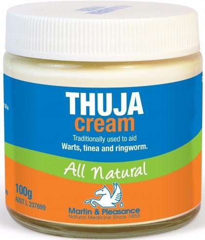 Martin & Pleasance Thuja Cream x100gm-Health Tree Australia