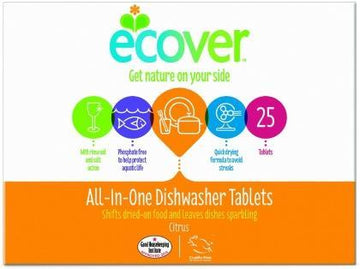 Ecover Dishwasher Tablets All In One 500g