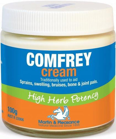 Martin & Pleasance Comfrey Cream x100gm-Health Tree Australia