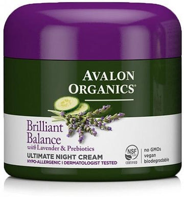 Avalon Lavender Luminosity Ultimate Night Cream 50g