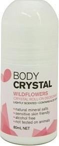 Body Crystal Wildflowers Roll On 80ml-Health Tree Australia