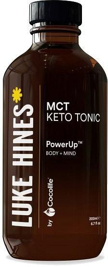 Luke Hines by Cocolife MCT Keto Tonic (PowerUp Body+Mind) 200ml New