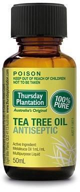 TP Tea Tree 100% Pure Oil 50ml in a box-Health Tree Australia