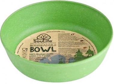 EcoSouLife Bamboo (D15 x H5cm) Bowl Green-Health Tree Australia
