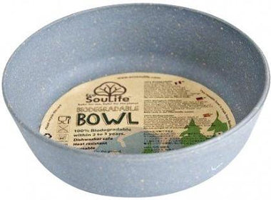 EcoSouLife Bamboo (D15 x H5cm) Bowl Charcoal-Health Tree Australia