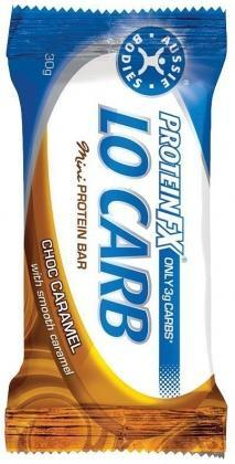 Aussie Bodies FX Lo Carb Mini Bar Caramel 12x30g