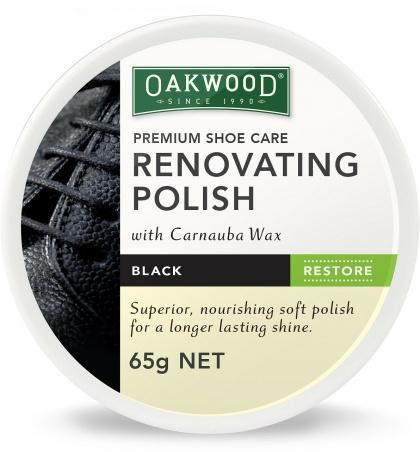 Oakwood Renovating Polish Black 65g-Health Tree Australia