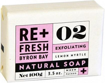 ReFresh Byron Bay Lemon Myrtle Soap Exfoliant 100g