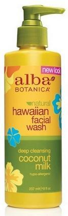 Alba Hawaiian Coconut Milk Facial Wash 230ml - Health Tree Australia