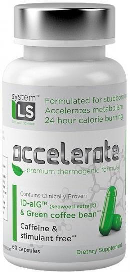 SystemLS Accelerate Premium Thermogenic Formula 60caps-Health Tree Australia