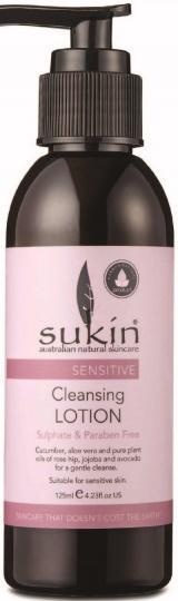 Sukin Sensitive Cleansing Lotion 125ml-Health Tree Australia