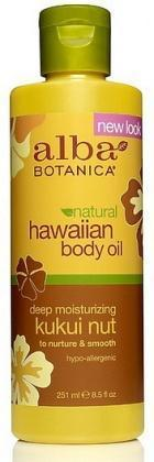 Alba Hawaiian Kukui Nut Organic Body Oil 250ml - Health Tree Australia
