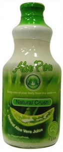 Aloe Vera Aloe Juice Pulp 100% Pure (Glass) 1Lt