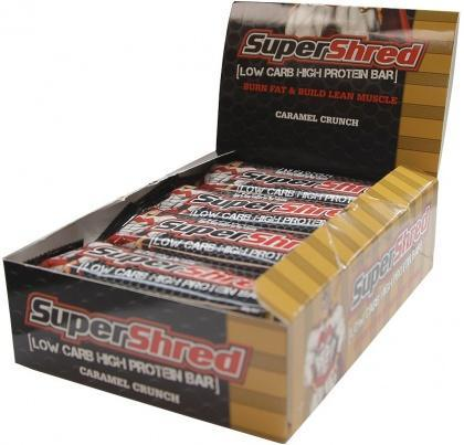 Max's SuperShred Bar Caramel Crunch 12x60g-Health Tree Australia