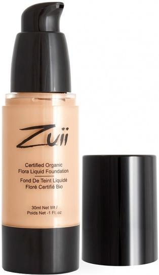 Zuii Flora Liquid Foundation Natural Bisque 30ml-Health Tree Australia
