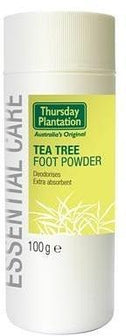TP Tea Tree Foot Powder 100g-Health Tree Australia
