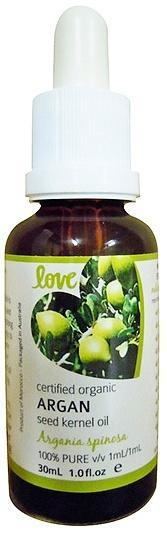 Love Oils Organic Argan Seed Kernel Oil 30ml-Health Tree Australia