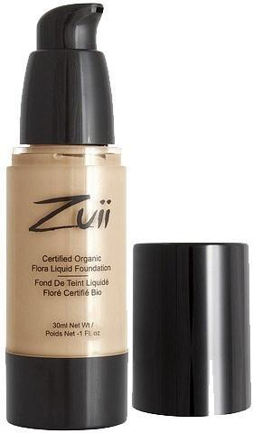 Zuii Flora Liquid Foundation Natural Ivory 30ml-Health Tree Australia