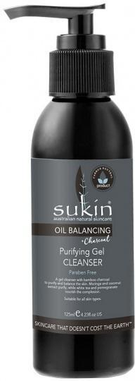 Sukin Oil Balancing Plus Charcoal Purifying Gel Cleanser 125ml-Health Tree Australia